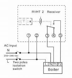 boiler timer switch wiring diagram rvht 2 wireless timer thermostat control ravenheat