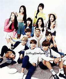 Bts And Gfriend Are Now Roommates Bangtanfriend