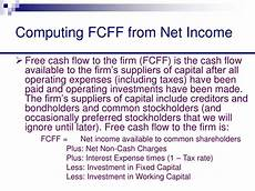 ppt chapter 3 free cash flow valuation powerpoint presentation id 188220