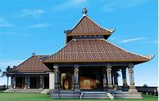 Gambar Konsep Rumah Adat Bali Balinese Architecture