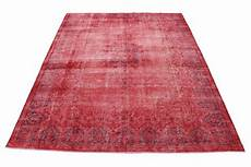 vintage teppich rot in 380x280 1001 167190 bei carpetido