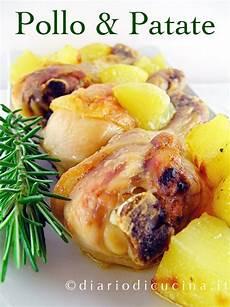 come cucinare il pollo al forno con patate ricetta pollo al forno con patate diario di cucina