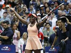 sloane stephens of the united states reacts after beating of the united states