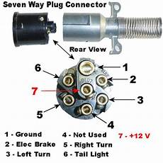 7 Pin Wiring Diagram Ford Tractor by 7 Pin Tractor Trailer Wiring Diagram