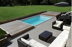 Exemple De Terrasse Terrasse Piscine Mobile Le Rolling Deck Piscinelle