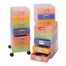 cassettiere ufficio cassettiera jolly niji multicolor semitrasparente 3