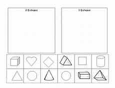 2d and 3d shapes cut and paste by robinson tpt