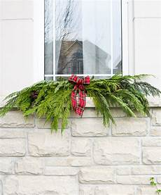 a garland hack and how to make and hang window swag