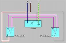 schaltungen bei der elektroinstallation anschlussbeispiele