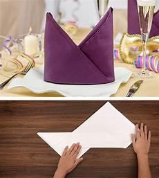 tutorial serviette falten bischofsm 252 tze napkin
