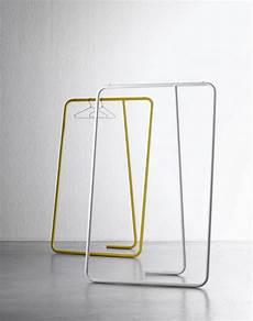 garderobe aus leitern coat railing facing with gracia design objects