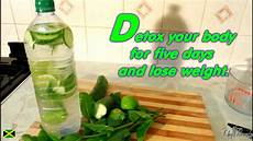 detox your for five days and lose weight recipes