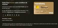visa premier avis carte visa premier monabanq d 233 sormais accessible sans
