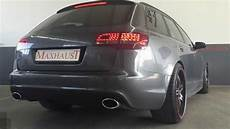 audi a6 4f 3 0 tdi with maxhaust active sound