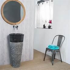 Vasque Sur Pied En Marbre Florence Conique H