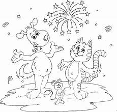 and cat and mouse coloring page coloring