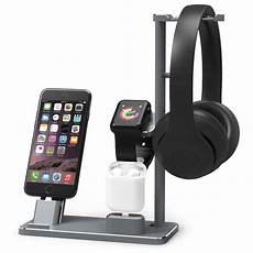 Puluz Pu381 Charging Dock Base Charger by 2018 Aluminium Headphone Stand Holder Charging Dock