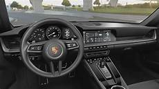 porsche 911 interior 2019 porsche cars review release
