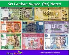Sri Lanka Rupie - sri lankan rupees currency sri lanka rupee rs diary