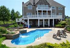 house plans with walkout basement and pool image result for pool house with walkout basement home