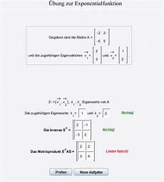 exponentialfunktion matrizen s 1 as berechnen