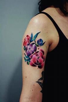 Blumen Arm - 100 topmost arm tattoos for guys and