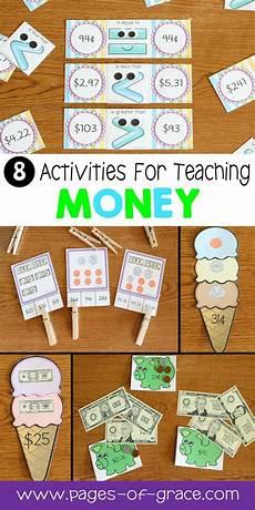 money unit first second grade math best of second