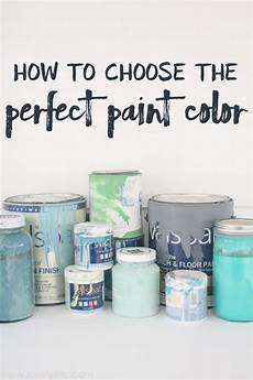 how to choose the paint color lovely etc