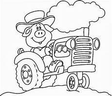 Gratis Malvorlagen Traktoren Traktor Malvorlagen