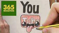 simbolos para dibujar faciles como dibujar logo youtube kawaii paso a paso dibujos kawaii faciles how to draw a logo
