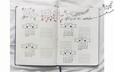Bullet Journal Jahresübersicht - bullet journal einige beispiele steemit