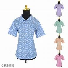 blus batik pendek motif bulu burung merak blus lengan pendek murah batikunik com