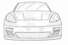 Porsche Zum Ausmalen - porsche panamera cabrio erste zeichnungen bilder