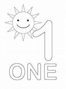 free coloring pages printable fun number one coloring pages