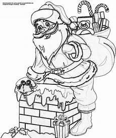 ausmalbilder weihnachtsmann gratis weihnachtsmann mit geschenken gratis ausmalbild