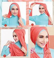 Tutorial Jilbab Pashmina Pesta Simple Jilbab Turban