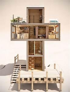 Cross Shaped House