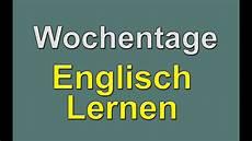 Englisch Lernen Wochentage