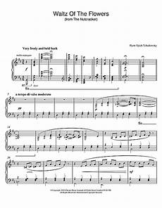 waltz of the flowers from the nutcracker sheet music by