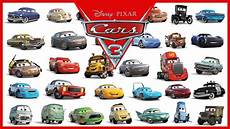 personnages cars 3 disney pixar cars 3 all characters cars 2017