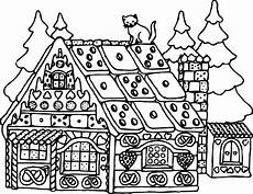 house coloring page at getcolorings free