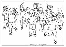 sports day coloring pages 17757 running race colouring page gambar warna