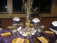 Purple And Gold Home Decor Ideas by Decor Gold And Purple Decor Centerpiece