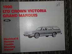 electric and cars manual 1990 ford e series security system 1990 ford ltd crown victoria grand marquis electrical wiring diagrams manual ebay