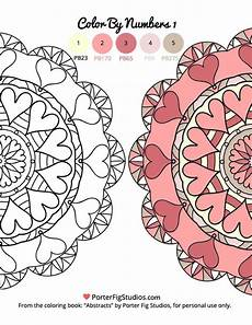 mandala coloring pages by numbers 17867 free mandala coloring page color by numbers 1 porter fig studios