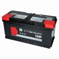 Autobatterie Starterbatterie Fiamm Titanium 12v 110ah