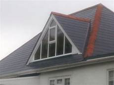 Gable Roof Window Designs by Glass Gable Ended Dormer Window For Room With High