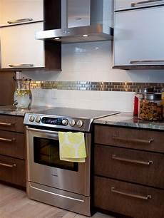 20 stainless steel kitchen backsplashes hgtv