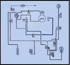 ford vacuum system diagram looking for vacuum line routing diagram and i the calibration code ford truck enthusiasts