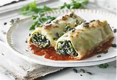 Cannelloni Spinat Ricotta - spinach ricotta cannelloni bighams